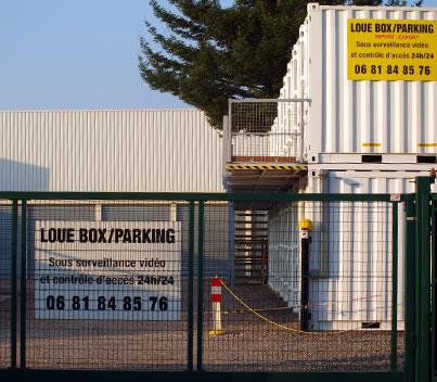 Pr sentation des espaces de stockage louer box for Tarif conteneur maritime